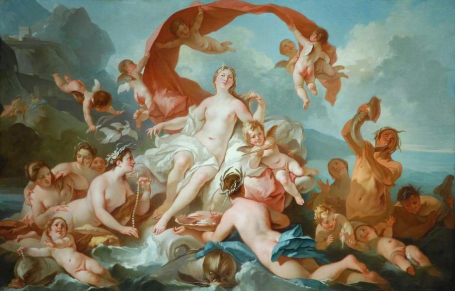 Pierre-Jacques Cazes, 'La naissance de Vénus'  At The Bowes Museum, we sing Fauré's rarely performed secular cantata that uses soft, ravishing colours to herald the goddess of love.