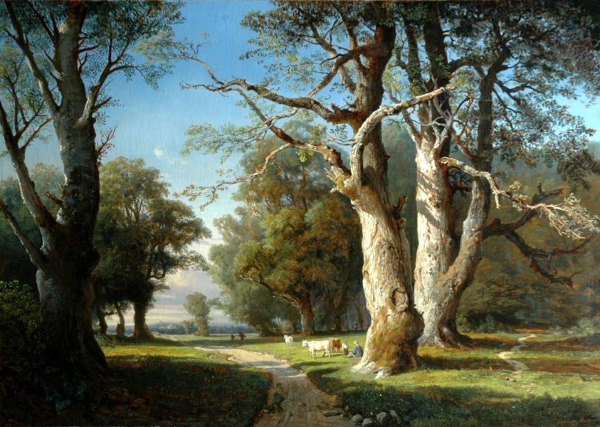 Joséphine Bowes: 'Le lisière d'un fôret'.  In Saint-Saëns' part song 'Les fleurs et les arbres' eternal nature is married with art to light up our laughter and our tears.